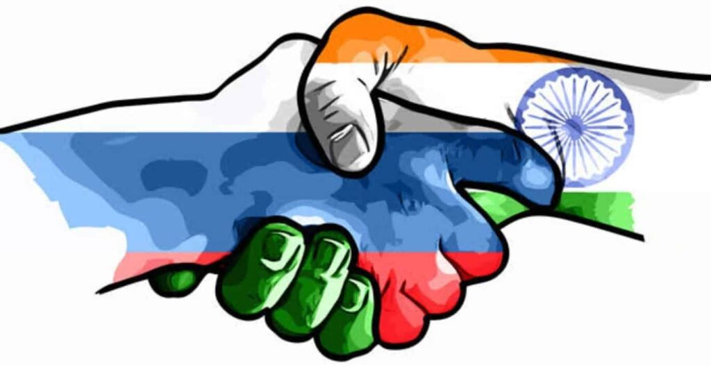 Love Between India and Russia