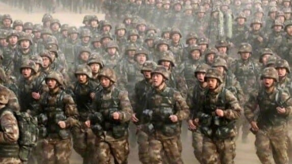 China Rise as a Military Super Power