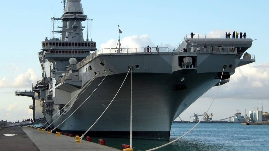 CAVOUR AIRCRAFT CARRIER