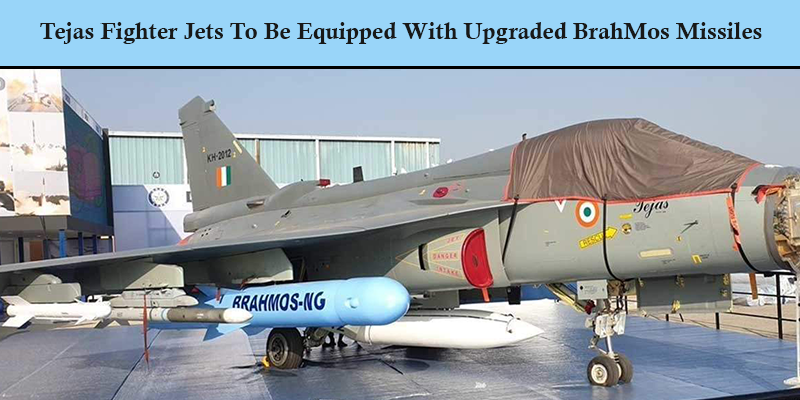 Tejas Fighter Jets To Be Equipped With Upgraded BrahMos